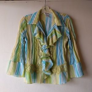 Allison Taylor blouse size small